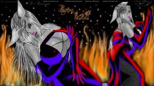 Gothic Black Wallpaper +Xaniras+ CG