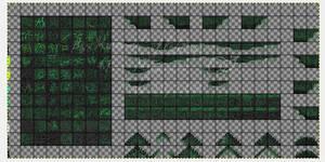 Black Towers Tile Set 1 SC by Kyanbu