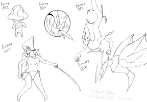Enemy Concepts Group 1 BWHD by Kyanbu