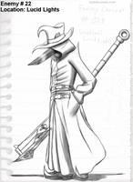 DRCoD Enemy Concept 22 SKHD by Kyanbu