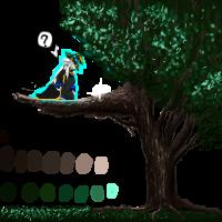 Waking Forest Tree1 CGHQ by Kyanbu