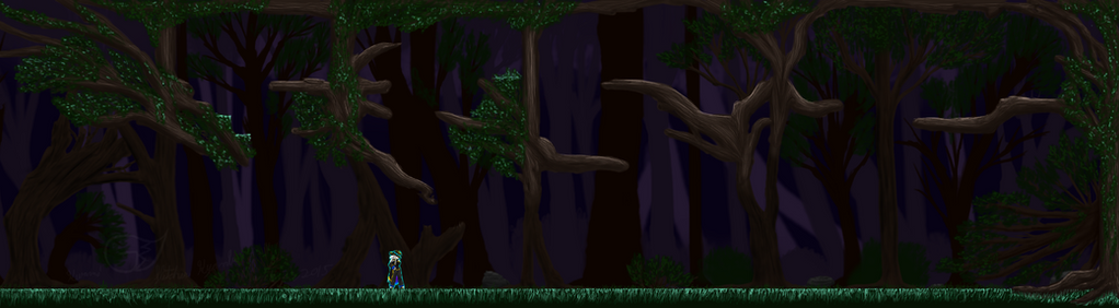 Waking Forest Area 1 Alpha by Kyanbu
