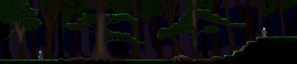 Waking Forest Area 2M  Alpha by Kyanbu