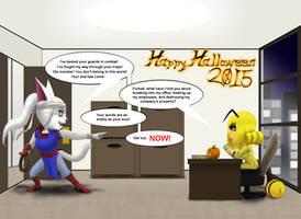 Happy Halloween 2015 V1 CGHQ by Kyanbu