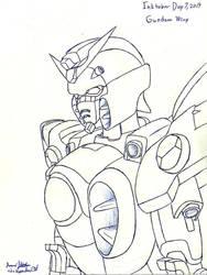 Inktober 2019 Day 7 Gundam Wing
