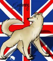 Englandog by Whitefang45