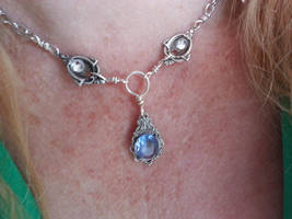 Elsa inspired Frozen Necklace by artistiquejewelry