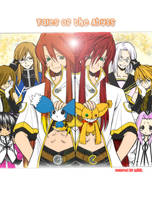 Tales of the Abyss Crew by DisRandomPerson
