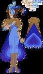 Cocoa-Azure Diamond - Bi-Color Diamond