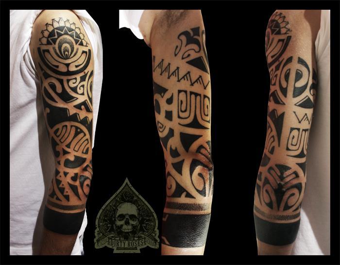 maori tattoo by pande lee on deviantart. Black Bedroom Furniture Sets. Home Design Ideas