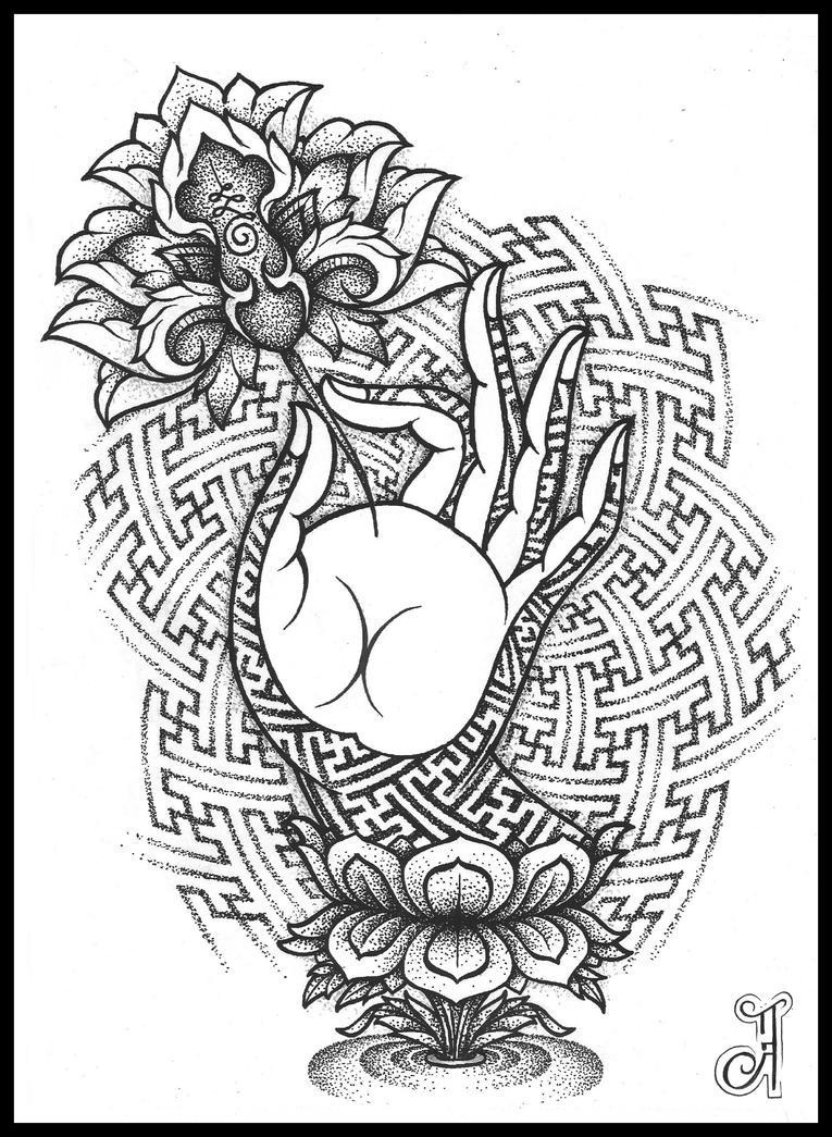 Buddhist palm by pande lee on deviantart buddhist palm by pande lee biocorpaavc Choice Image
