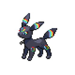 Pixelart of Myu (A Umbreon OC) by Haunted-Ditto