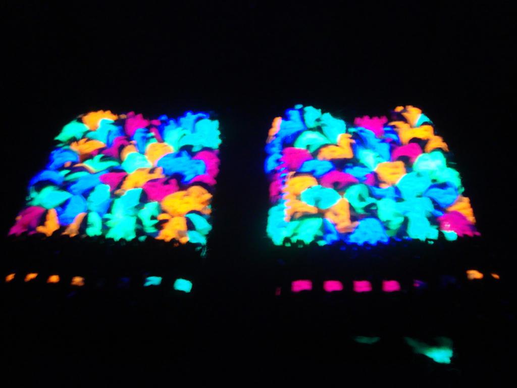 Black light gloves - Black Light Sensitive Fingerless Gloves By Crochet By Clarissa
