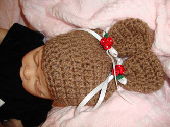 Beary Christmas Hat by Crochet-by-Clarissa