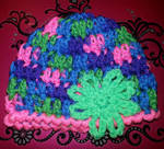 Crochet newborn baby hat by Crochet-by-Clarissa