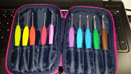 My New Clover Amour Crochet Hooks