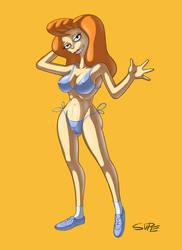 Mindy Simmons - Bikini Series by super-enthused