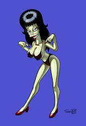 Booberella  - Bikini Series by super-enthused