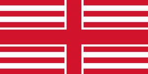 USA-England flag