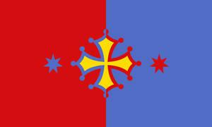 Republic of Occitania (Alternative Flag)