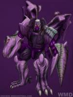 Beast Wars Megatron by UNICRON-WMD