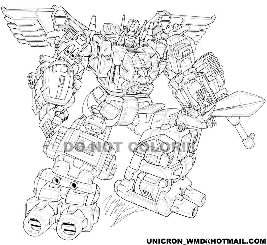 Predaking transformers coloring pages ~ PREDAKING by UNICRON-WMD on DeviantArt