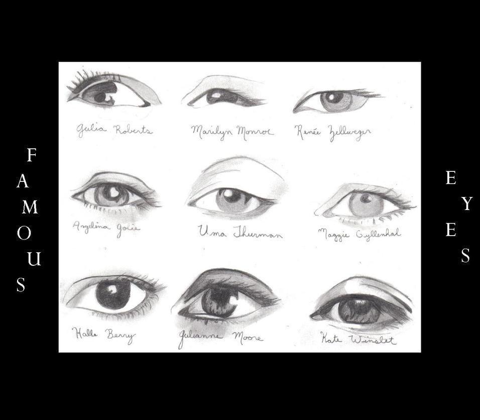 famous eyes by alpenaster on deviantart