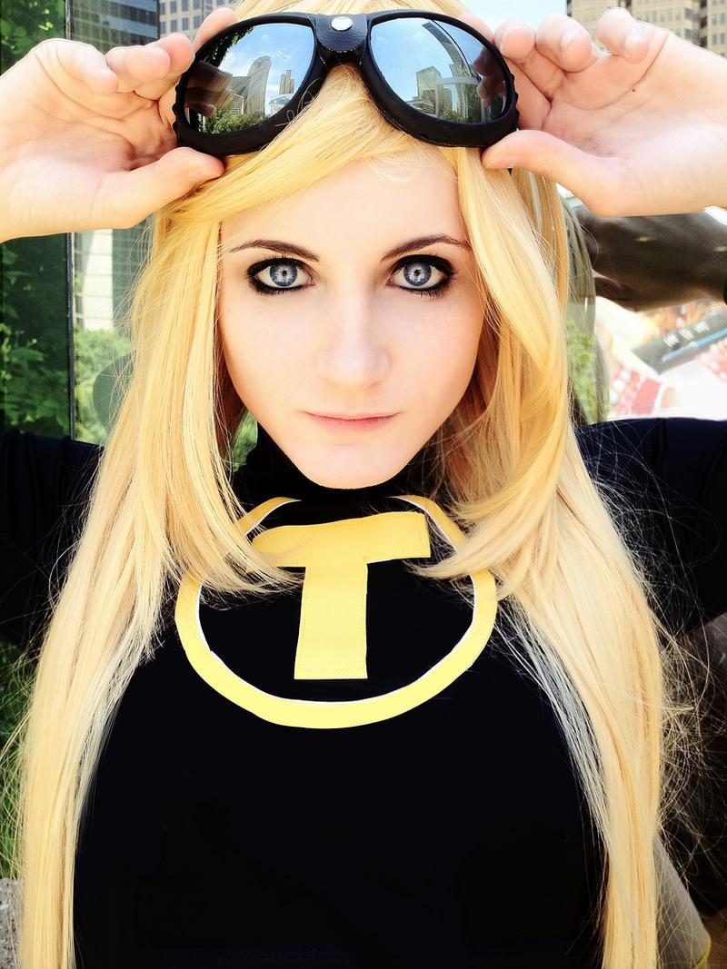 Terra - Teen Titans by Sasurealian