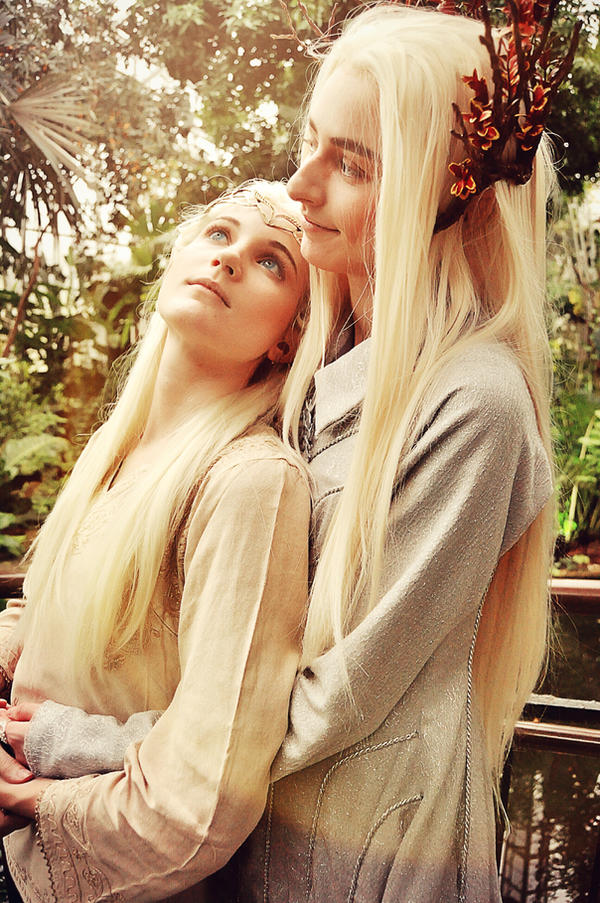 Everything the light touches (Legolas/Thranduil) by ...