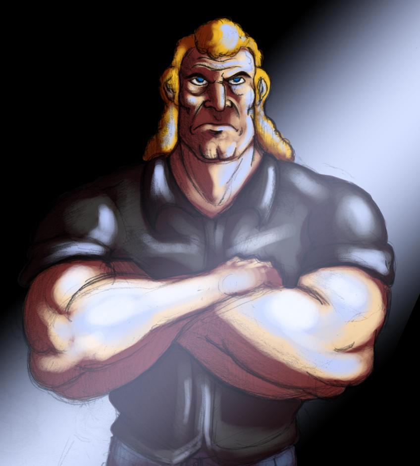 Brock Samson by Phobos-Romulus
