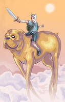 Adventure Time by Phobos-Romulus