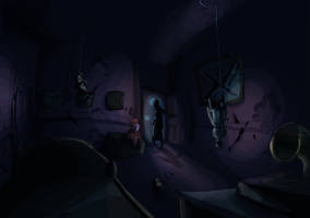 Bobby's Room by Phobos-Romulus