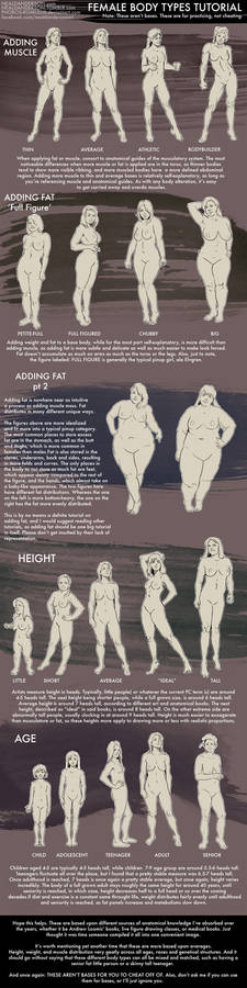 Female Body Types Tutorial