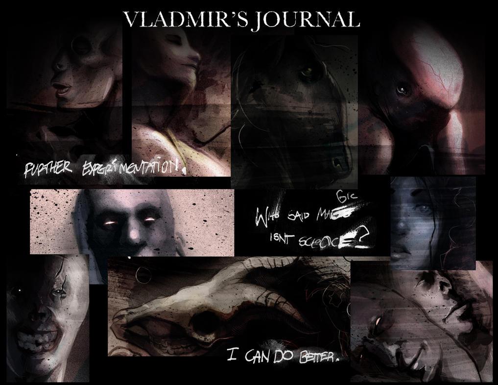 Vladmir's Journal by Phobos-Romulus