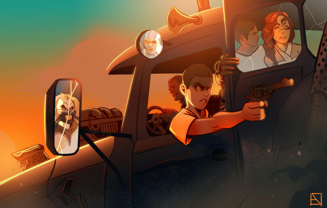 Fury Road by Phobos-Romulus
