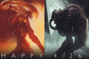 Happy Alien Day! by Phobos-Romulus