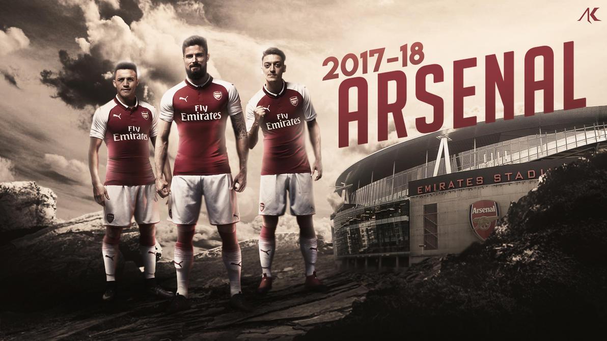 Arsenal 2017-18 by AadiKothari on DeviantArt