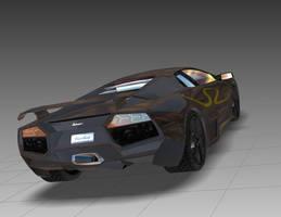 Lamborghini Reventon SV Model2 by Reilsss