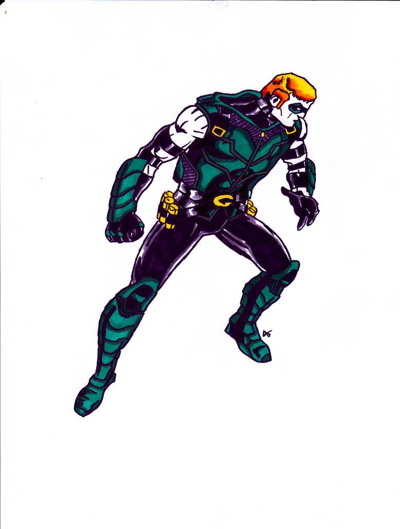 Green Arrow New 52 Wallpaper Green Arrow, New 52 by...
