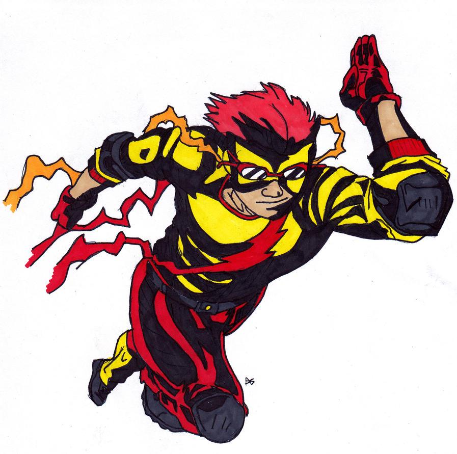 DC New 52: Kid Flash by skydemonx7 on DeviantArt