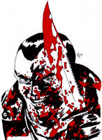 Negan, The Walking Dead by skydemonx7