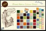 Retro Colour Chart
