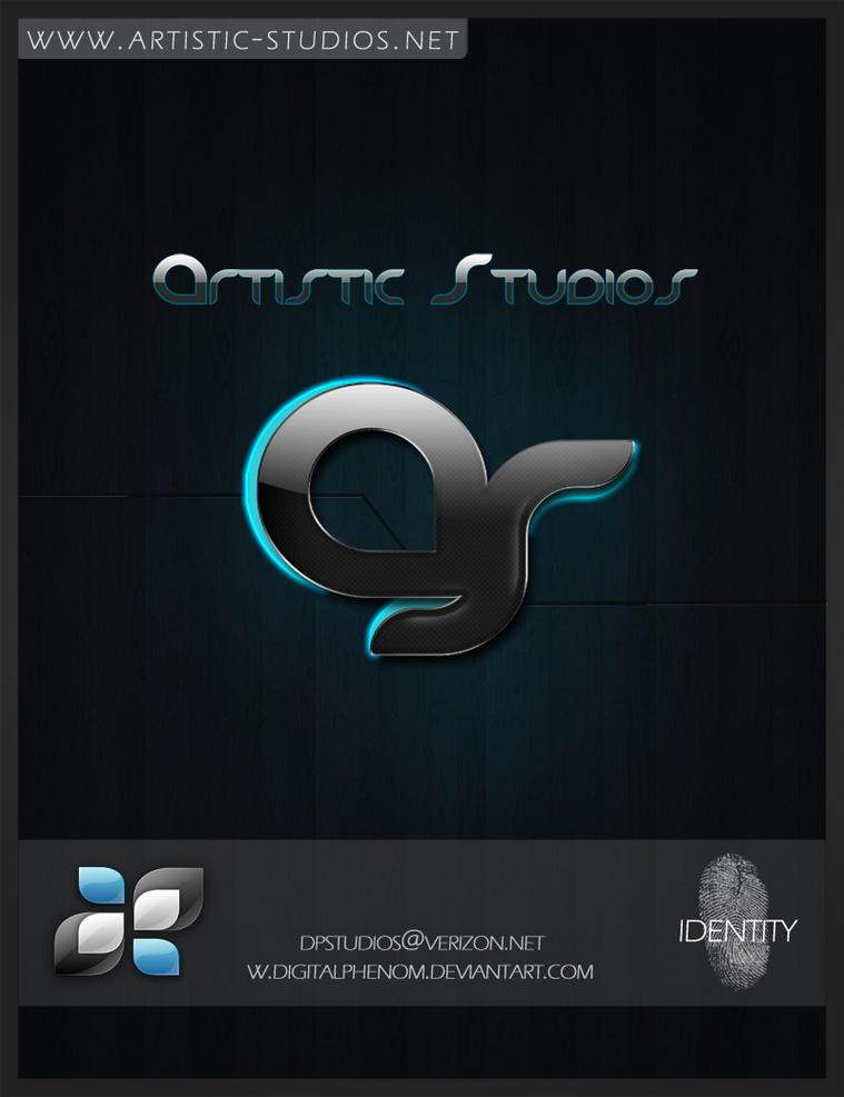 Artistic Studio Logo by DigitalPhenom