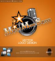 Mystify Music Logo by DigitalPhenom
