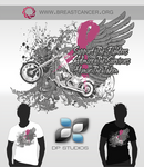 Mens Breast Cancer Awareness T