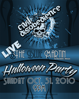 Halloween Gig Poster by DigitalPhenom