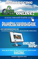 NewsLink Newspaper Ad by DigitalPhenom