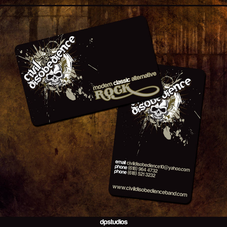 CD Business Card by DigitalPhenom