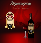 Rozommognatti Wine Label