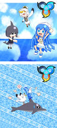 Great Sea Super Familiars by sfBluepan